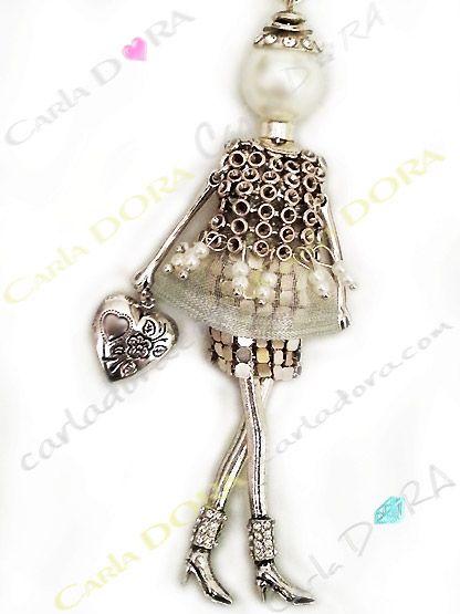 collier fantaisie clef