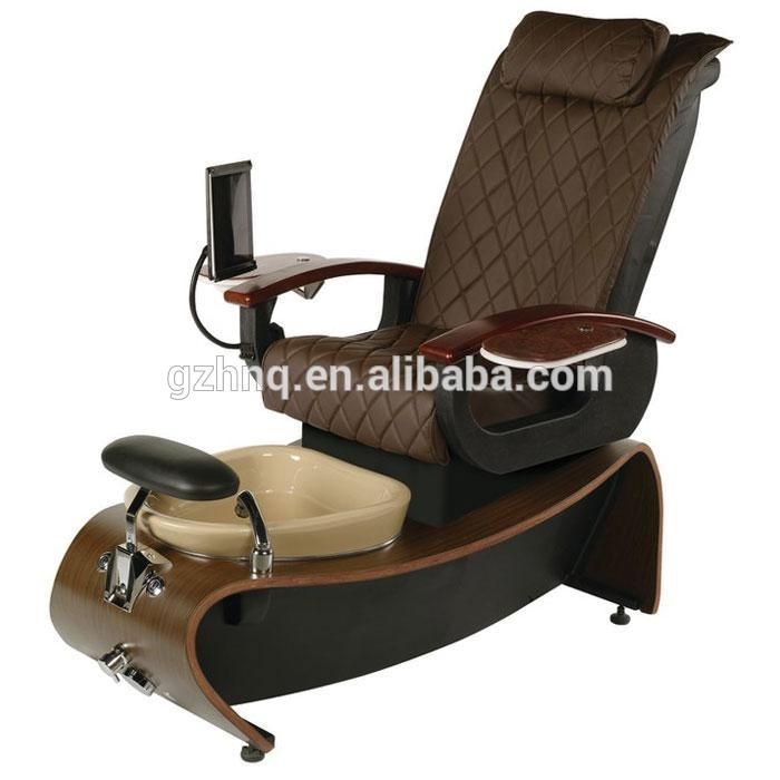 Used No Plumbing Pedicure Chair Pillow For Bed Target 2016 Luxury Spa Nail Salon Furniture