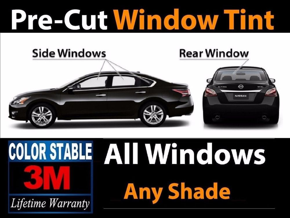 Precut All Glass Window 3m Color Stable Film Kit Fit For Jeep