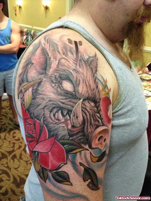 wild frog tattoo tattoo viewer com frog face tattoo pinterest rh pinterest co uk wild boar skull tattoos wild boar skull tattoos
