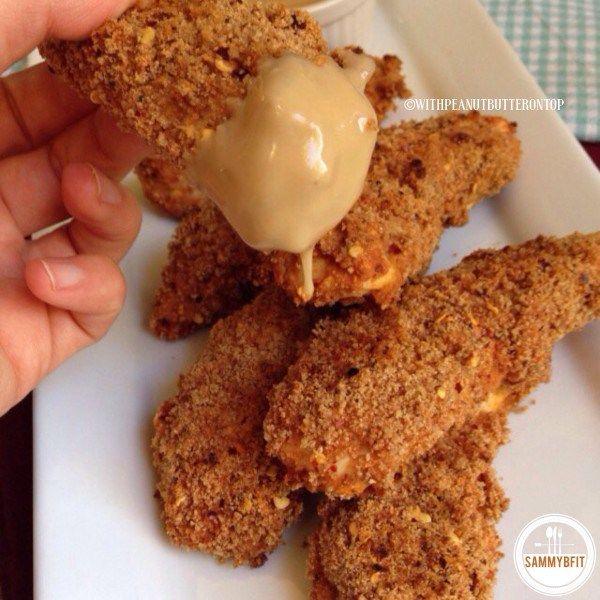 Baked Spicy Chicken Fingers Recipe Chicken Recipes Pinterest