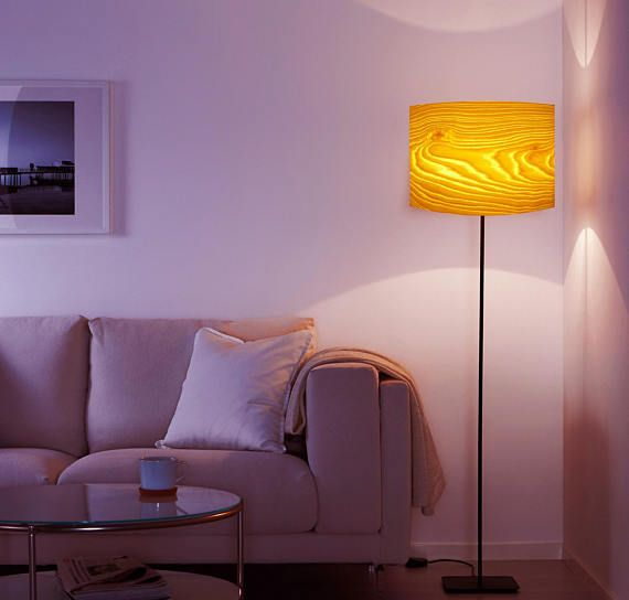 Round Red Cuckoo Clocks Wood Lamps White Floor Lamp Floor Lamp