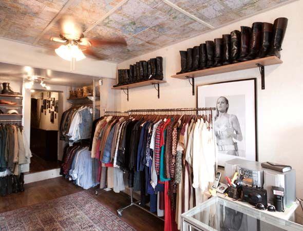 Philistine Store Design Interior Vintage Clothing Stores Clothing Store