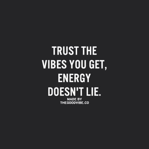 Trust the vibes you get | The Red Fairy Project