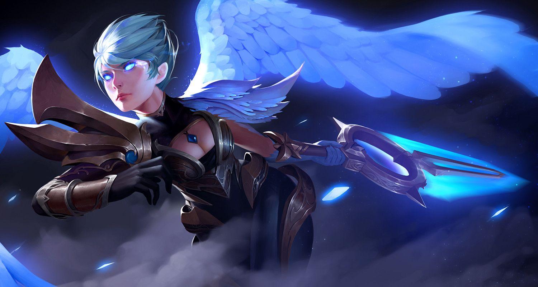 Jojo Z Kai Fine Art Lol League Of Legends League Of Legends League Of Legends Poppy