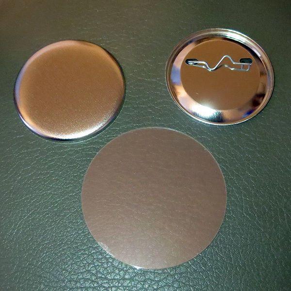"100 Tecre 1 1//4/"" Standard Size Pinback Button Sets"