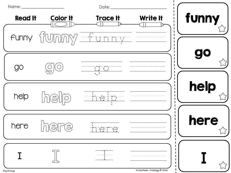 sight words sight words dolch sight words kindergarten worksheets. Black Bedroom Furniture Sets. Home Design Ideas