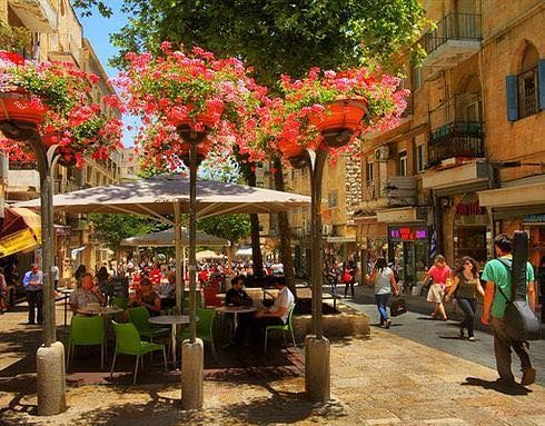 Ben Yehuda Street Jerusalem Israel Travel Jerusalem Israel
