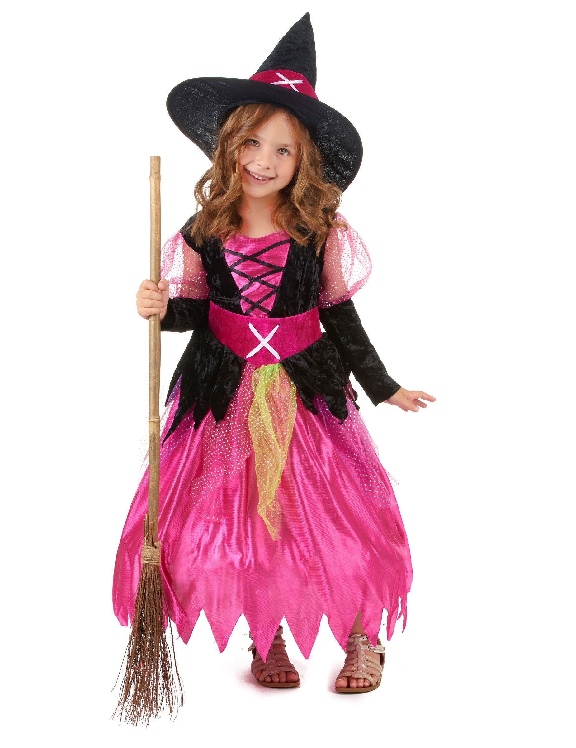 Costume strega Halloween bambina  Questo costume da strega Halloween per bambina  è composto da un 058b829d47de