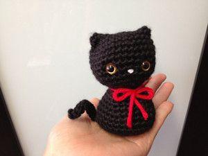 Amigurumis Gatos Patrones Gratis : Patrón gratis amigurumi de gato tejidos patrón