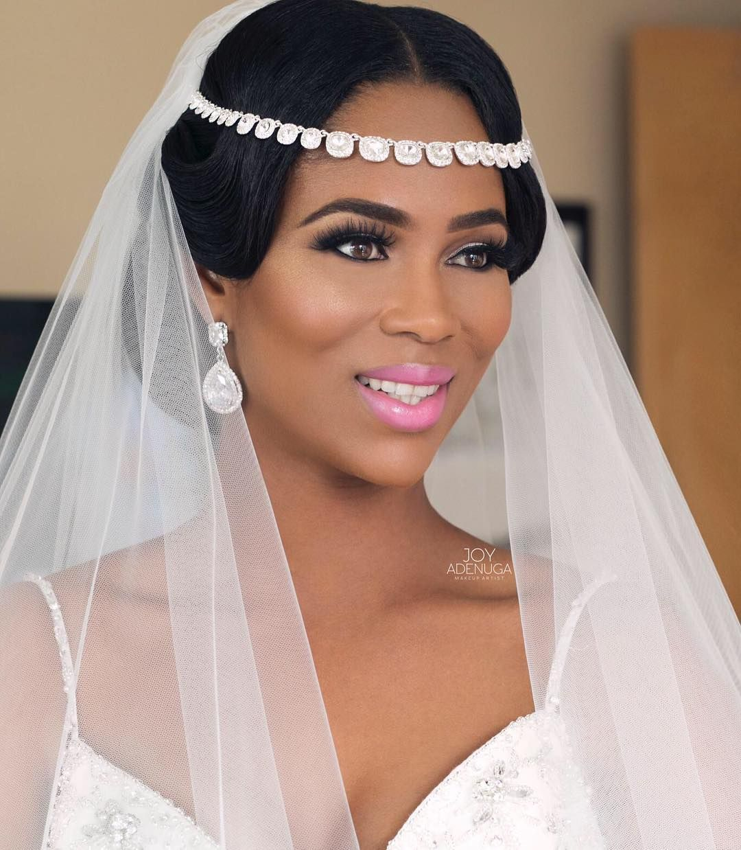 Jamaican Bride Carinna Makeup joyadenuga Hair… Black