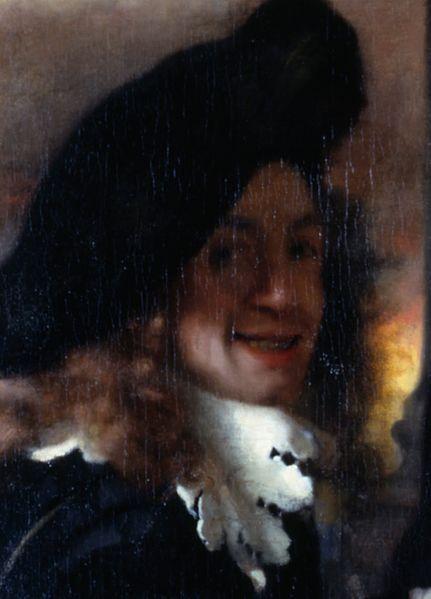 Jan Vermeer van Delft. Syntynyt  31. lokakuuta 1632. Kuollut   15. joulukuuta 1675. Tämä jannu meni taloon ja löysi maalausvärkkejä ja alkoi maalaamaan.