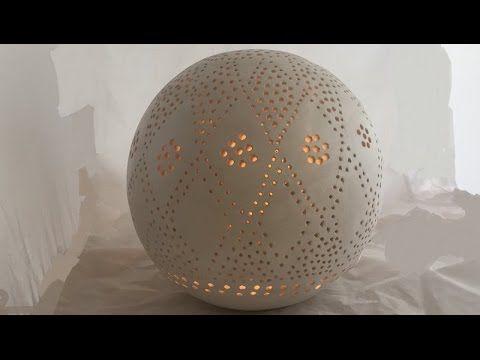 keramik lichterkugel youtube t pfern in 2019 keramik. Black Bedroom Furniture Sets. Home Design Ideas