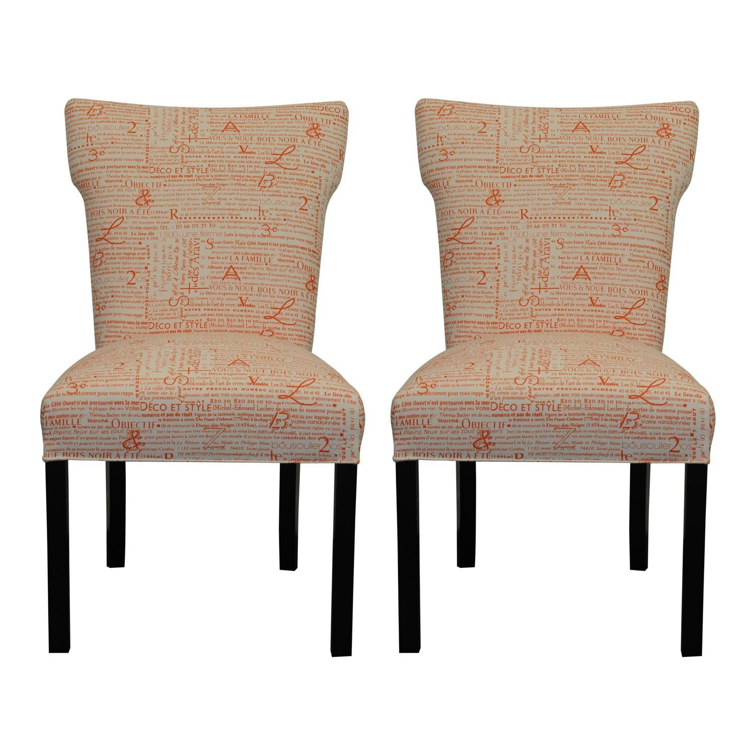 Sole Designs Bella Collection Modern Wingback Upholstered ...