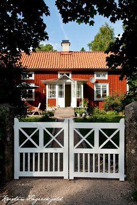 i mitt paradis grindar p plats biokay schwedenfarbe pinterest schweden skandinavien und. Black Bedroom Furniture Sets. Home Design Ideas