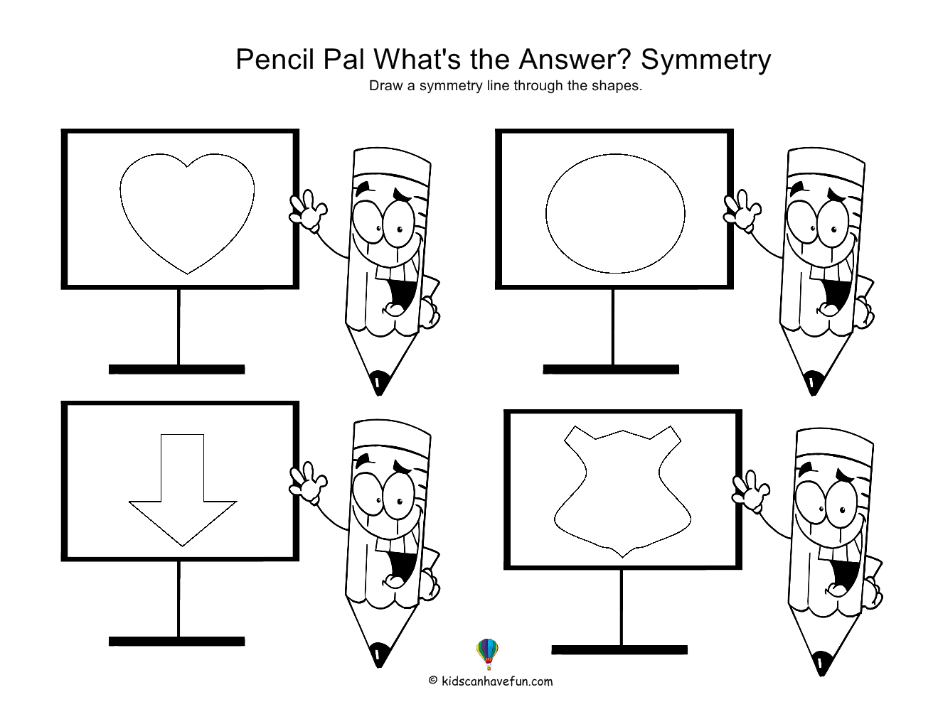 Kids Learn Symmetry With These Activities In