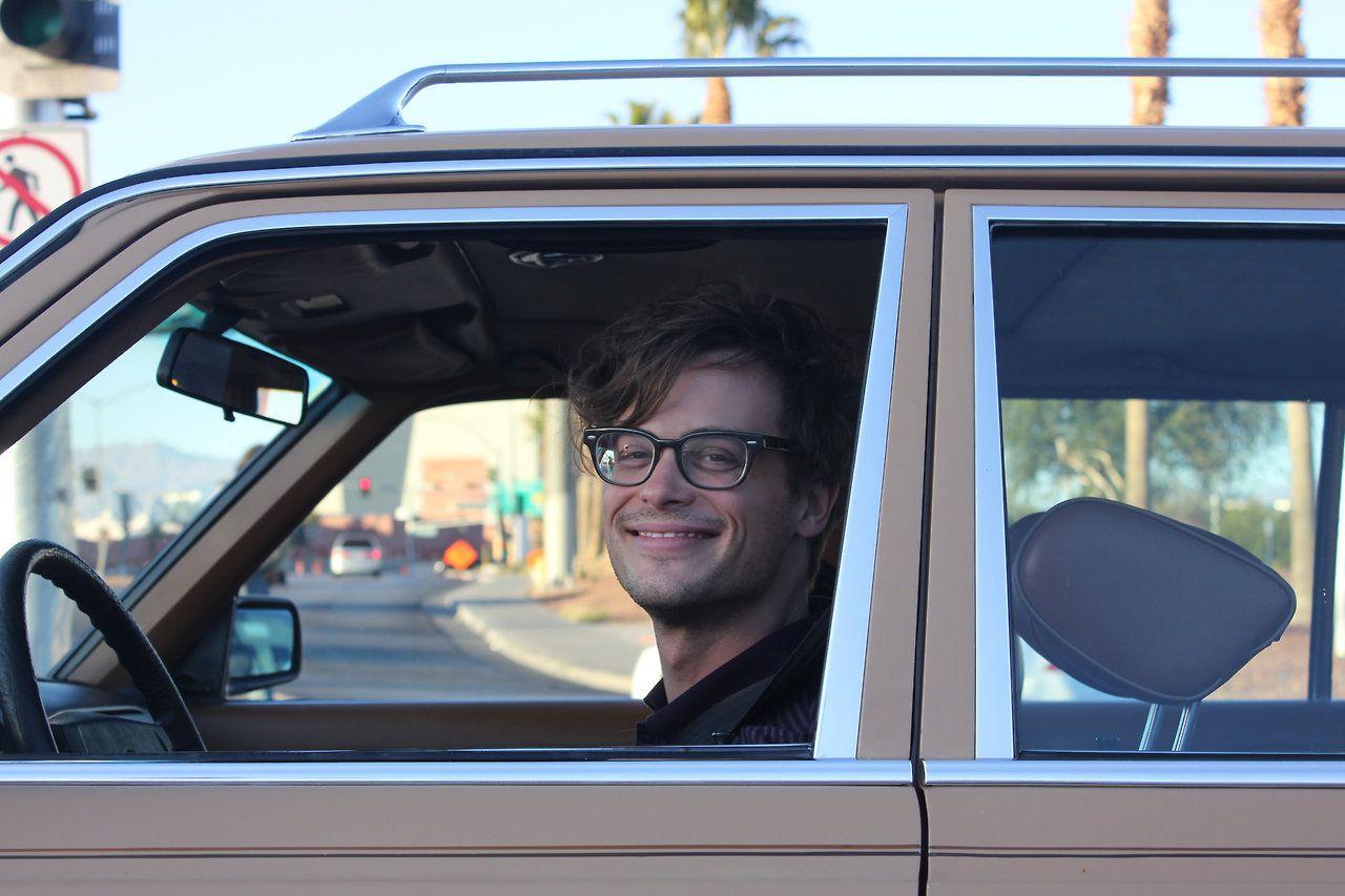 Picture I shot of Matthew Gray Gubler last year.