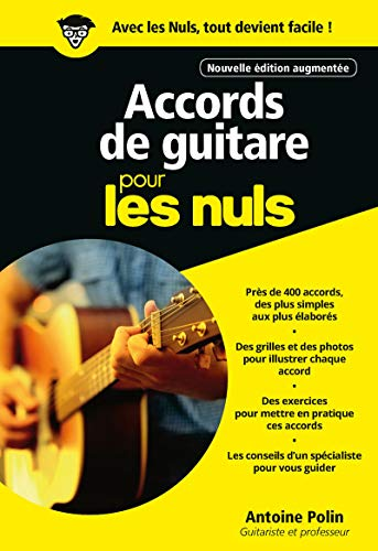 Exercices De Guitare Pour Les Nuls Pdf : exercices, guitare, Accords, Guitare, Nuls,, édition, Antoine, POLIN, Guitare,