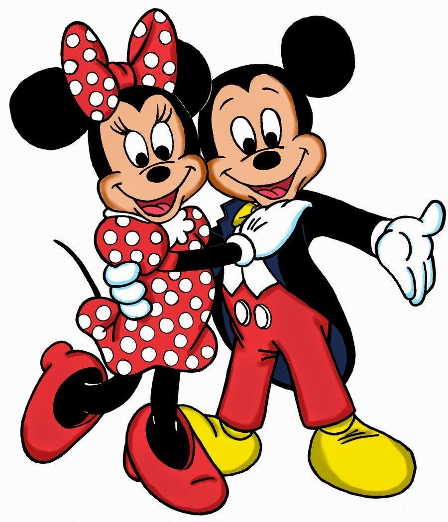 Minnie and Mickey Mouse | Minnie Loves Mickey | Pinterest