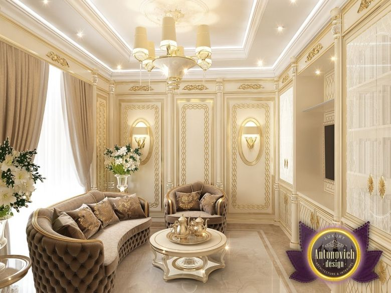 Villa interior design in dubai saudi arabia madina for Dining room in arabic