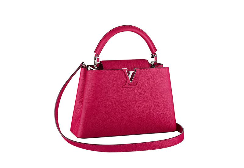 Louis Vuitton: Capucines and Lockit bags