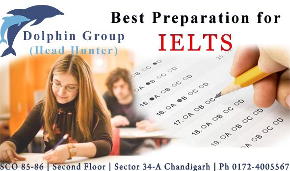 Dolphin Head Hunters is the best ielts and spoken english institute in chandigarh.Call now ms madhu at 9780754465, #DolphinHeadHunters.  www.dolphinheadhunter.com
