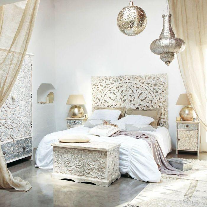 1001 ideas de cabeceros originales que pueden adornar tu habitaci n cabeceros beige y - Cabeceros de madera originales ...