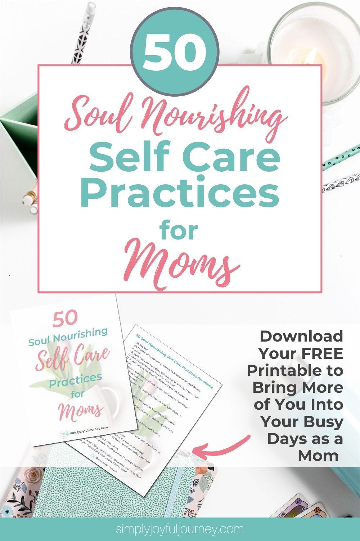 Self Care Ideas To Help You Feel Calm As A Mom Self Care Worksheets Self Care Activities Self Care