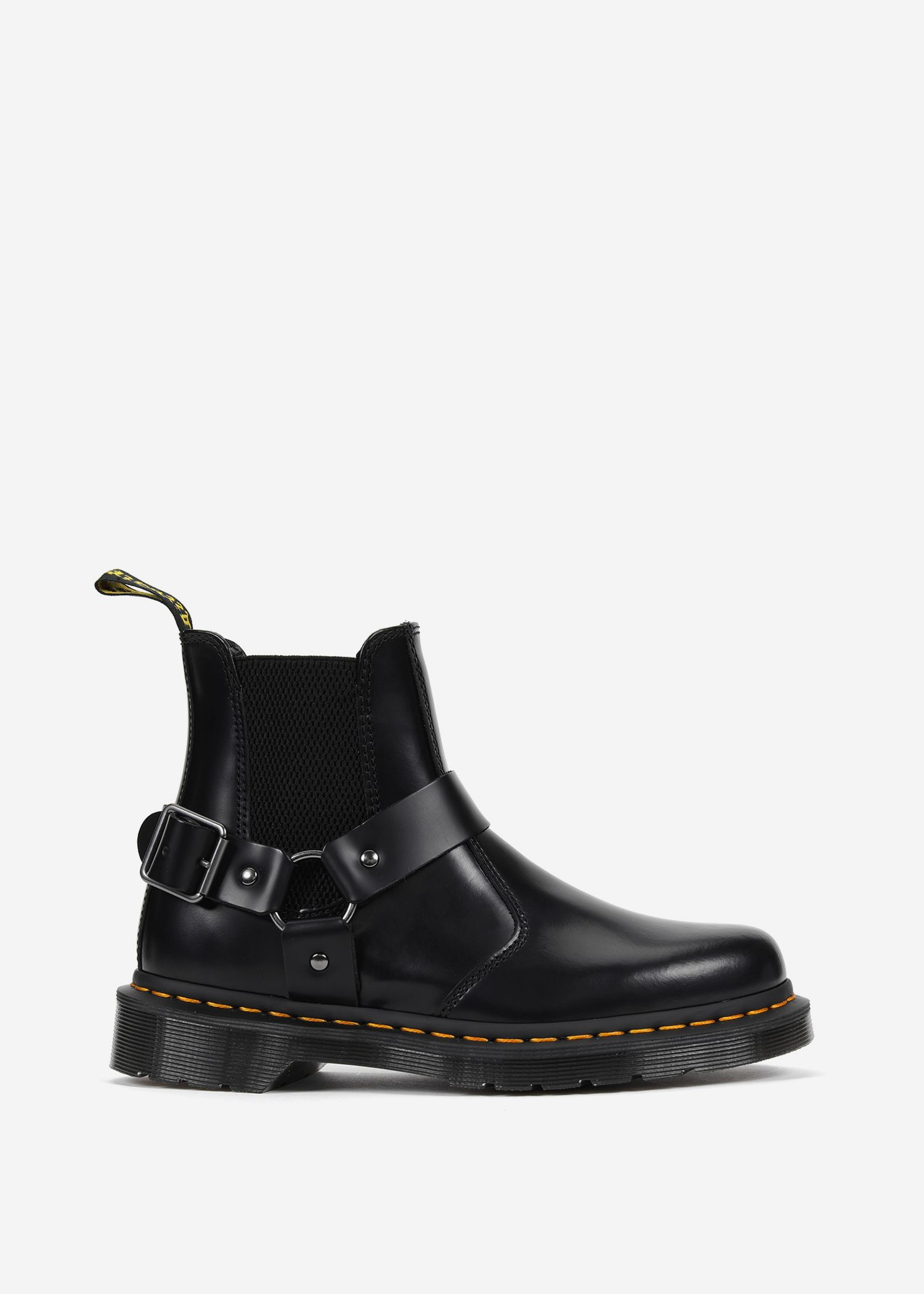784555276932 Dr. Martens Wincox Polished In Black