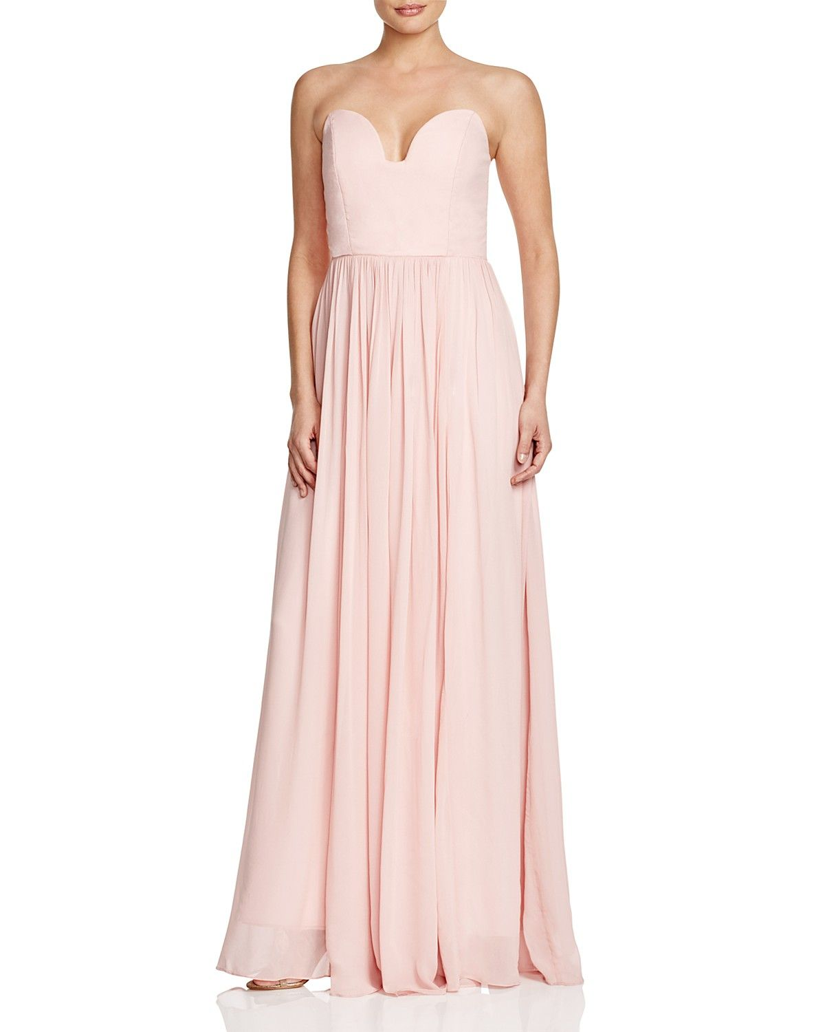 Nicole Miller Sweetheart Neck Strapless Gown Women Dresses Bloomingdale S Strapless Dress Formal Designer Prom Dresses Prom Dresses Gowns [ 1500 x 1200 Pixel ]