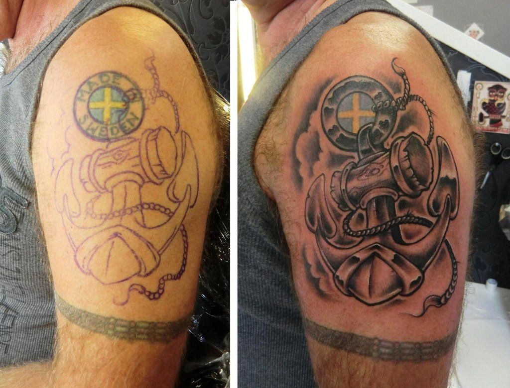 Cover Up Tattoos For Men: Cover Up Tattoo For Men