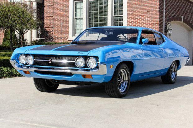 Marti Report Included: Restored 1971 Ford Torino Cobra