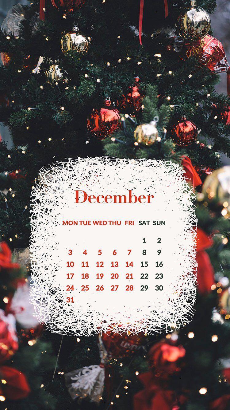 December // IPhone wallpaper, backgrounds Рождественские