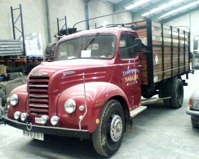 Camion Ebro B 45 Camiones Clásicos Furgonetas Clásicas Camiones Viejos