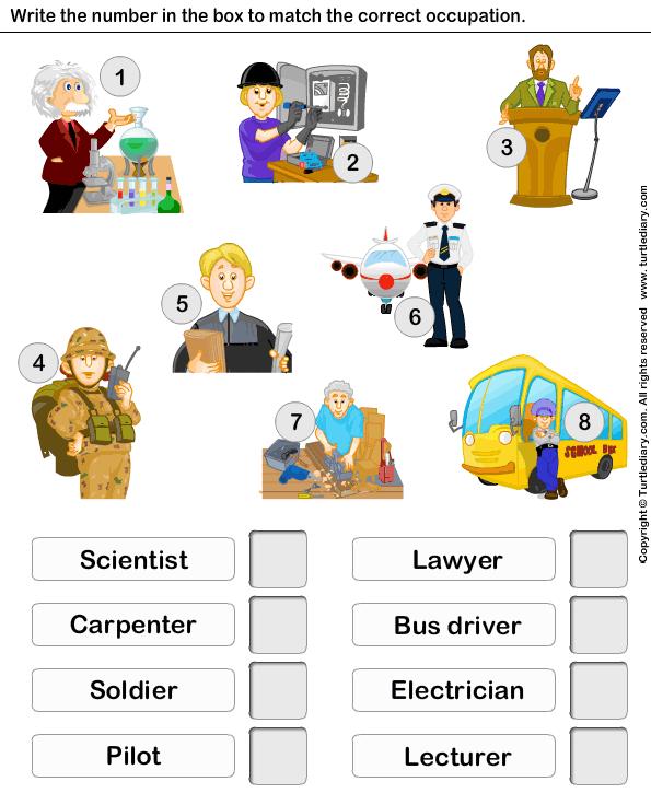 Identificar el empleo | Oficios y profesiones | Pinterest ...