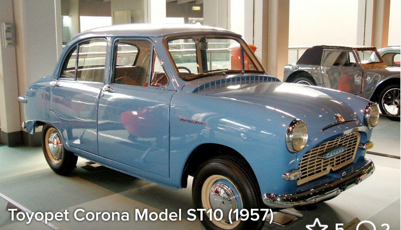 1957 Toyota Toyopet Corona ST10 Classic cars, Toyota