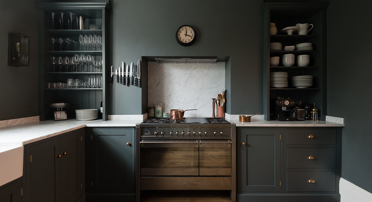 dark kitchen my new home pinterest english country kitchens
