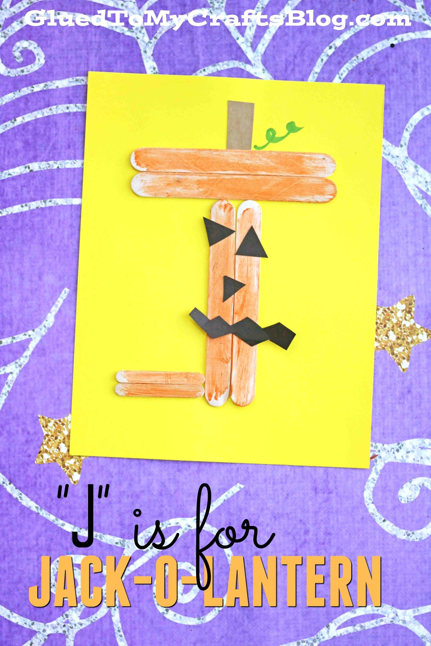 The Abc S In Popsicle Sticks From