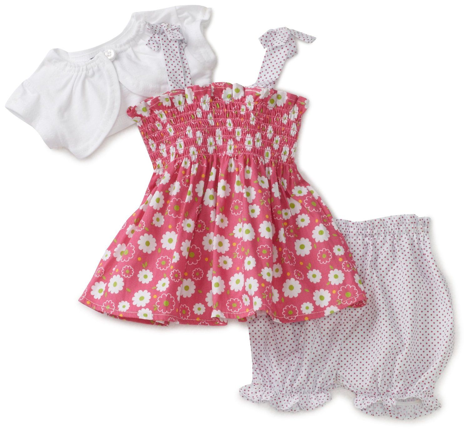 Newborn Baby Girl Clothes | So La Vita Baby-girls Newborn Flower ...