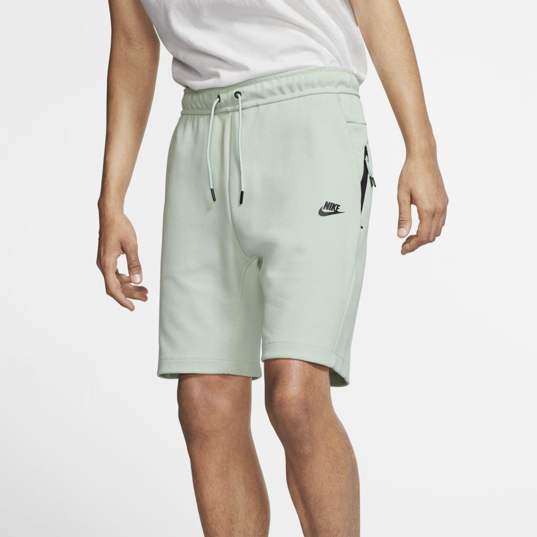 nike fleece men's shorts