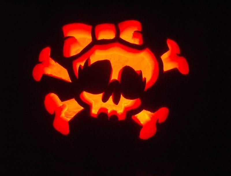 girlie skull pumpkin cute ideas pinterest pumpkin carving rh pinterest com