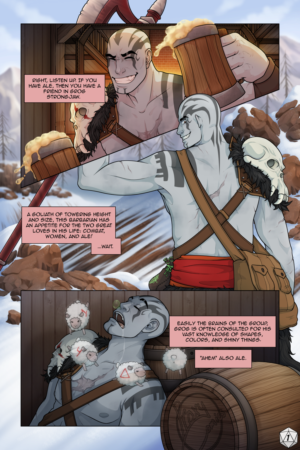 Grog Strongjaw Comic Page By Proxycomics On Deviantart