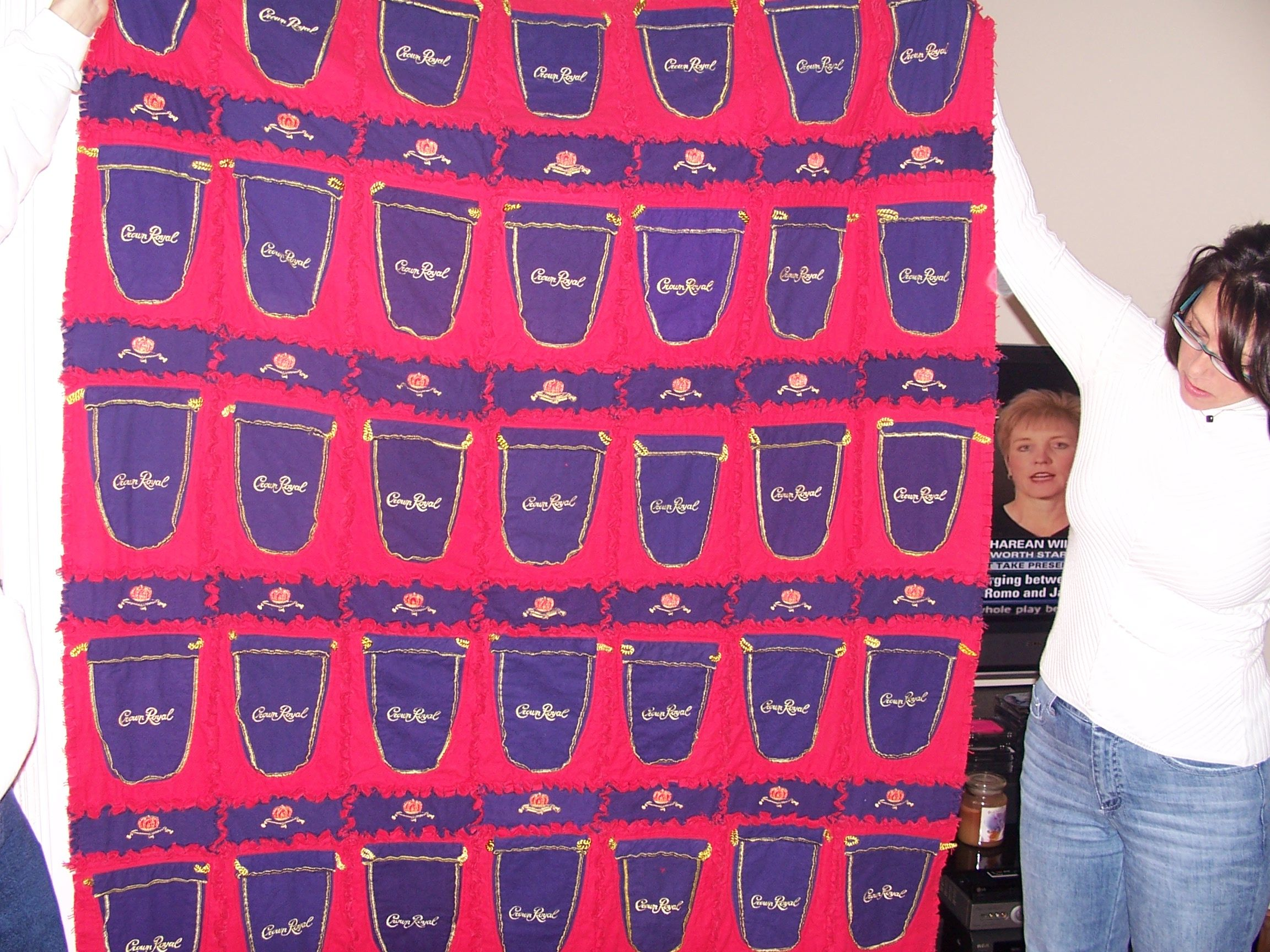 Crown Royal Bag Quilt ideas - Quilters Club of America ... : crown royal quilt patterns free - Adamdwight.com