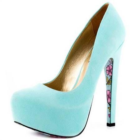Baby blue heels 2017 » MyClothesShop