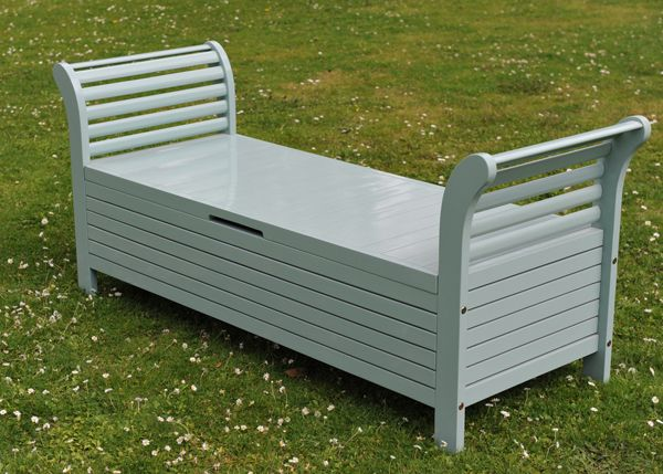 Outdoor storage for pool supplies home outdoor for Outdoor furniture benches