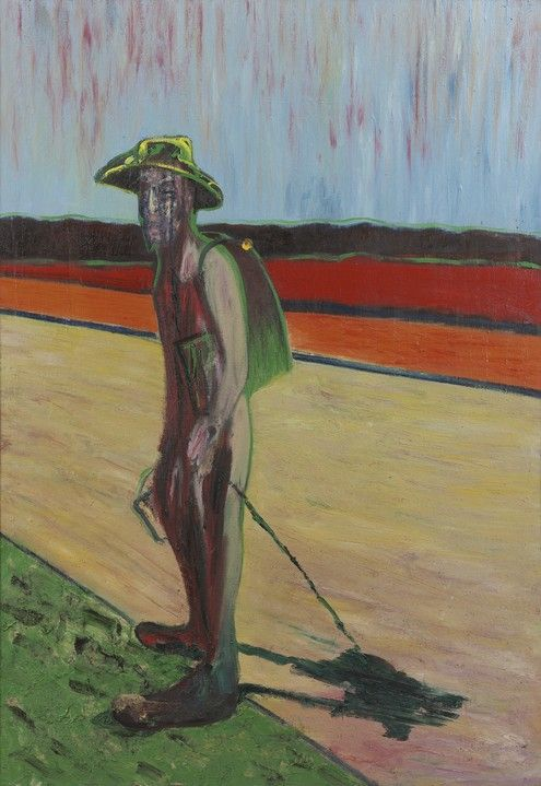 'Study for Portrait of Van Gogh V' by Francis Bacon (1957) - Found on artfinder.com