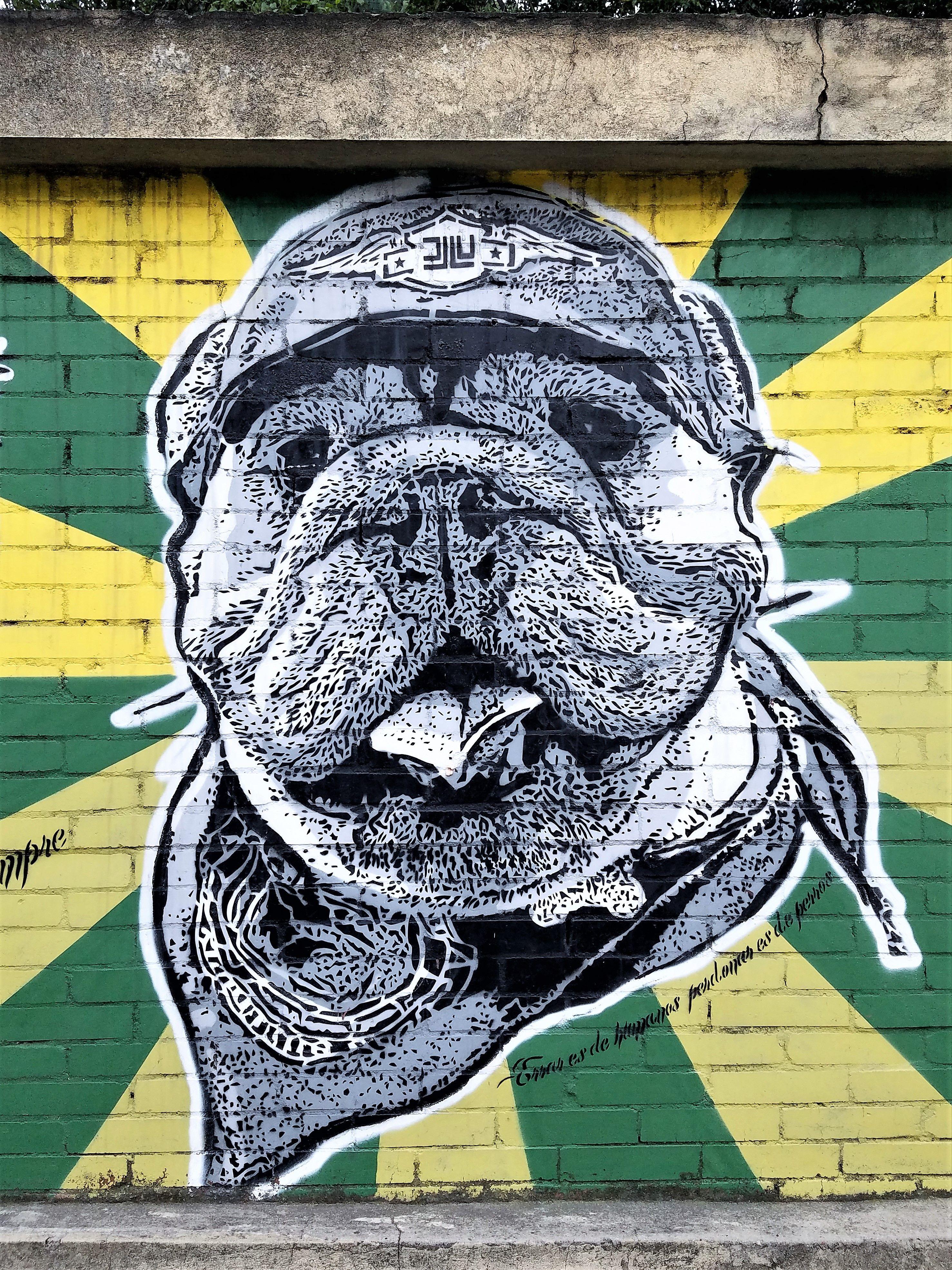 Resultado de imagen para graffitis bogota usaquen