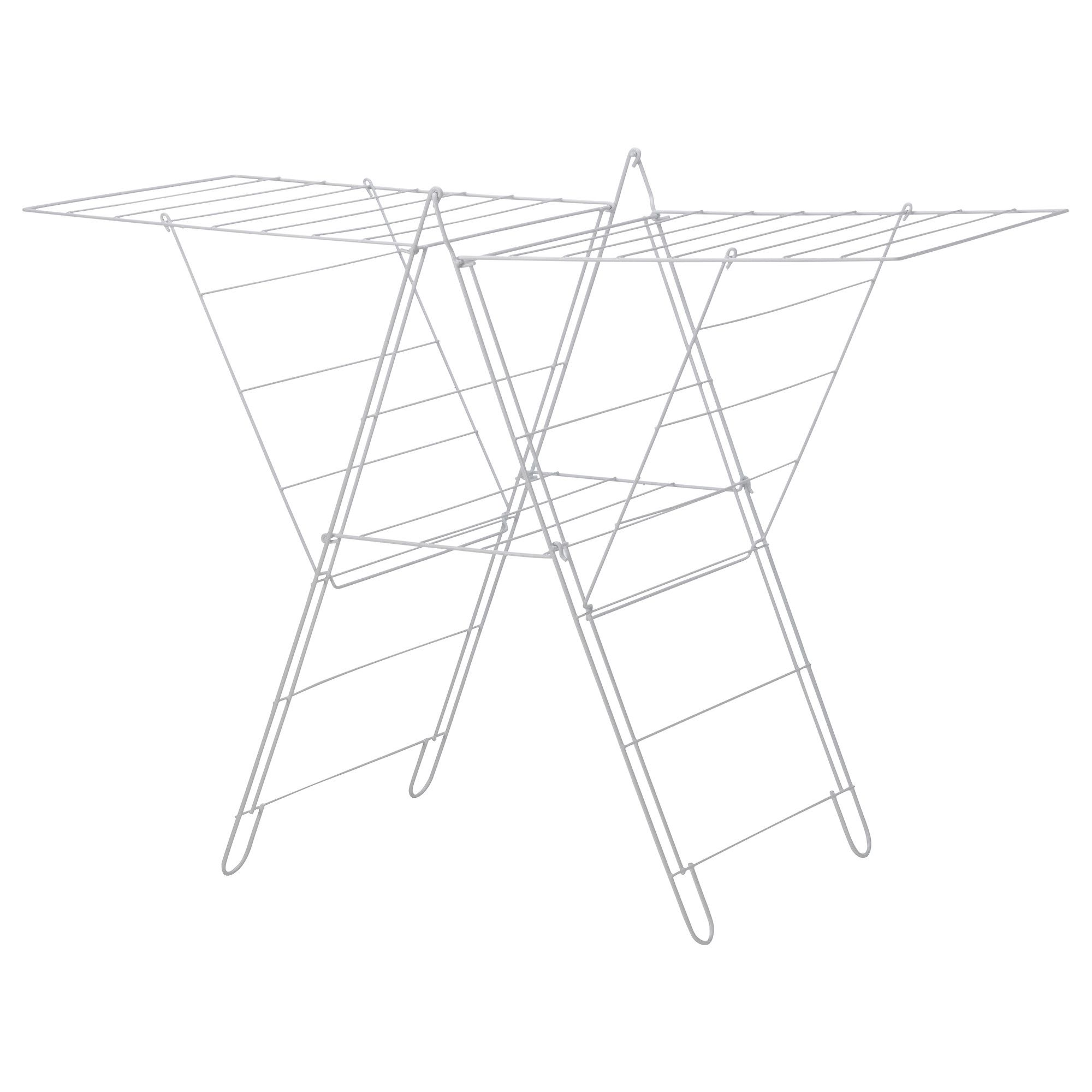 Frost Drying Rack Indoor Outdoor White Home Decor