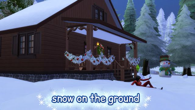 sims 4 cc s the best snow on the ground by clown confetti s ts4