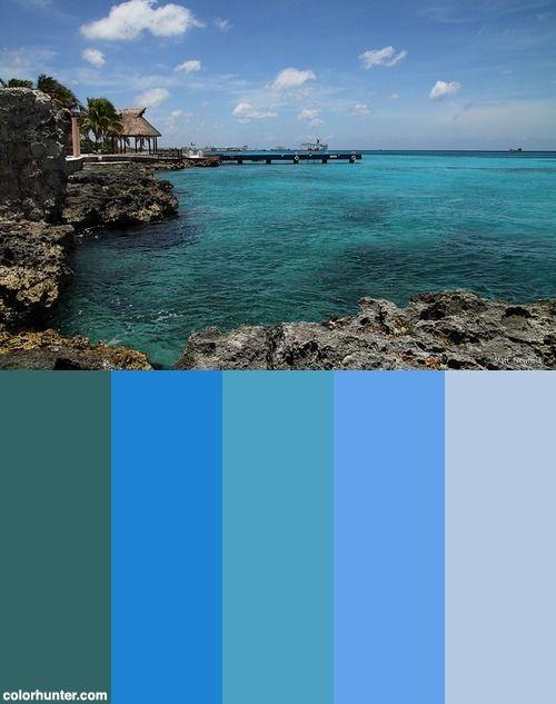 The Blue Lagoon Color Scheme